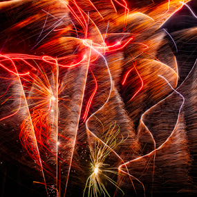 Sparkles by Michel Lorente - Abstract Fire & Fireworks ( color, colors, landscape, portrait, object, filter forge, , colorful, mood factory, vibrant, happiness, January, moods, emotions, inspiration )