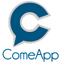 ComeApp location friends logo