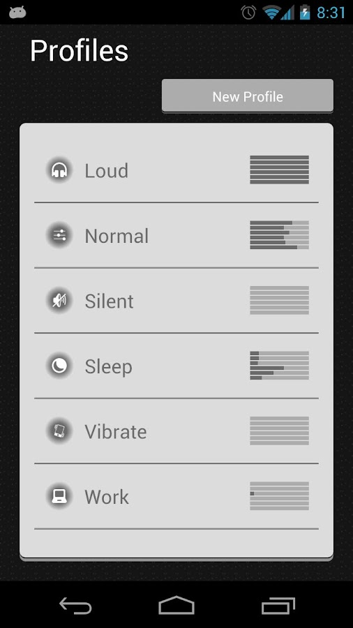 Audio Control - screenshot