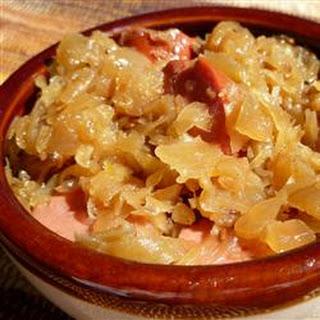 Judy's Sauerkraut.