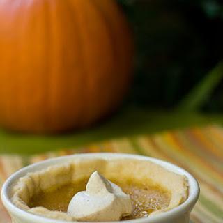 Pumpkin Pie Creme Brulee.