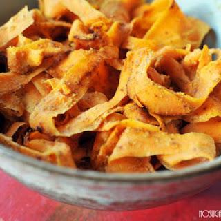 Honey Almond Sweet Potato Fettucini