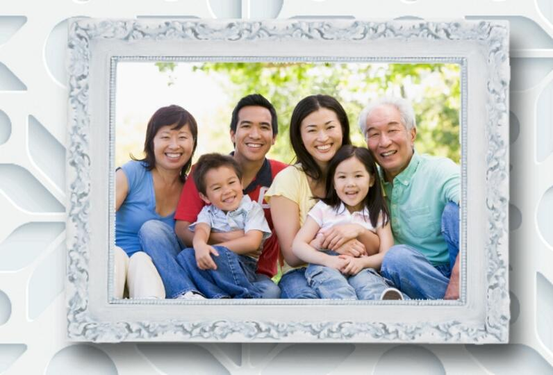 family picture frames screenshot