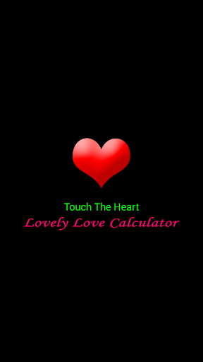 Lovely Love Calculator