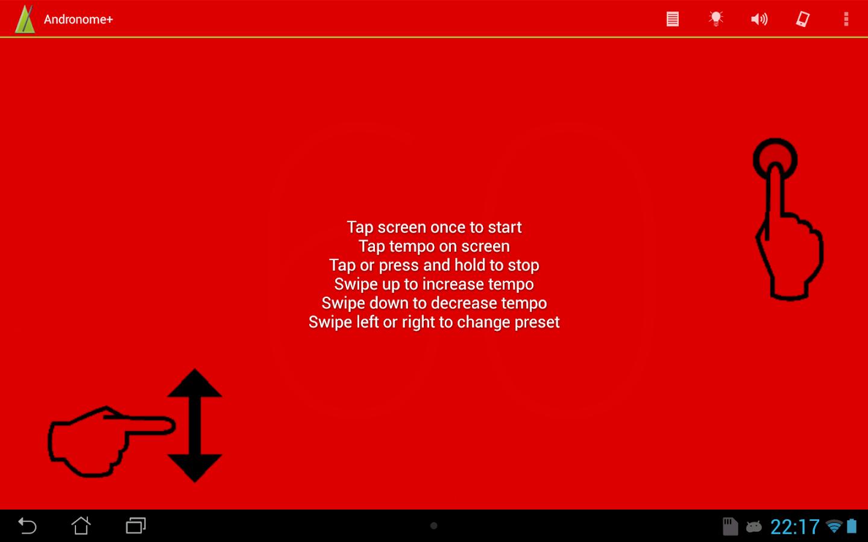 Andronome+ the Great Metronome - screenshot