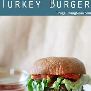 The Ultimate Juicy Turkey Burger
