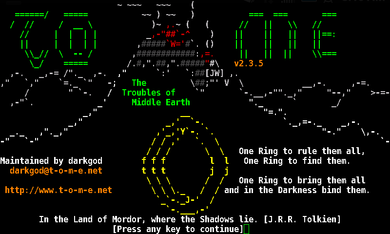 Angband Variants - screenshot