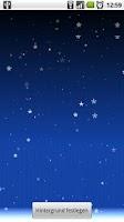 Screenshot of Falling Snow Live Wallpaper
