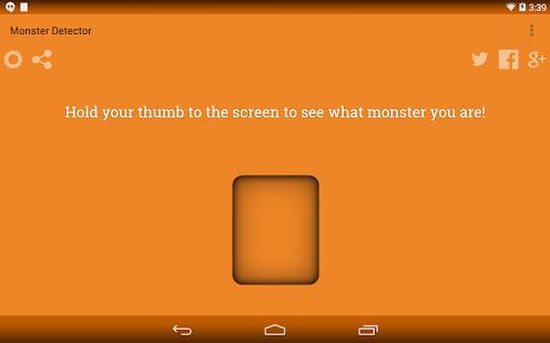 Monster Detector Prank - screenshot thumbnail