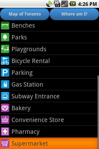 【免費旅遊App】Toronto Amenities Map-APP點子