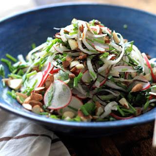 Triple Radish Noodle Salad