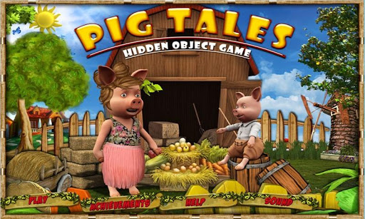 Pig Tales Find Hidden Objects