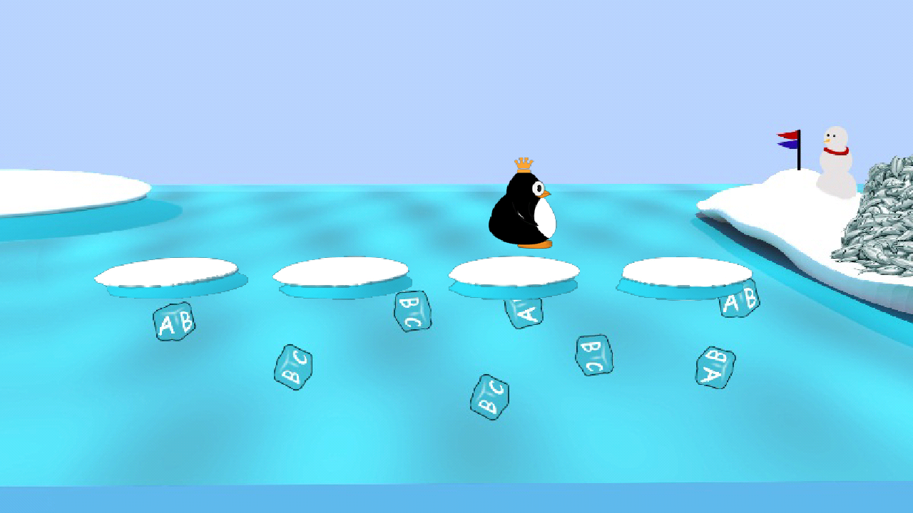 Spenguin Spelling for Kids- screenshot