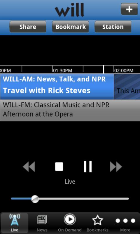 WILL Radio App- screenshot