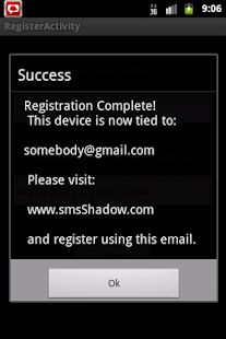 SMS Shadow Phone Tracker - screenshot thumbnail