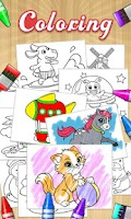 Screenshot of Color Draw & Coloring Books