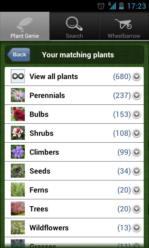 Plant Genie - screenshot