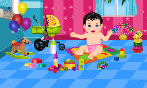 Baby Care and Bath Baby Games