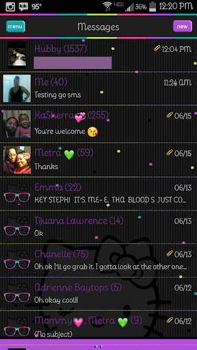 Fly Kitty Go SMS