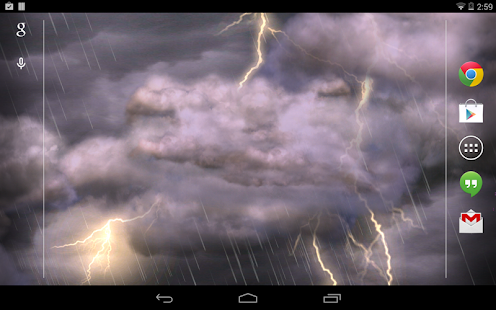 Thunderstorm Free Wallpaper - screenshot thumbnail