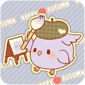 Tweecha Theme:Happy Autumn