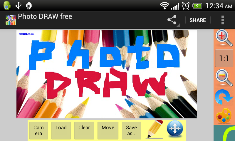 Photo DRAW free - screenshot