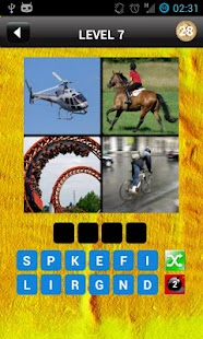 4 Pics 1 Word: One Word - screenshot thumbnail
