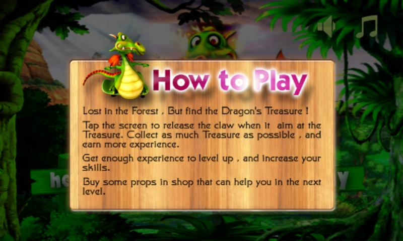 Dragon Treasure - Golden Miner - screenshot
