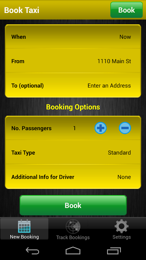 Yellow Cab Dallas Fort Worth- screenshot