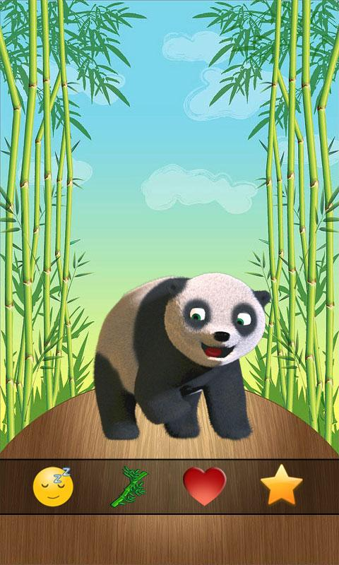 Talking Panda - screenshot