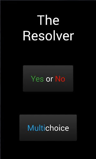 The Resolver