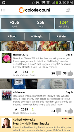 Calorie Counter 4.2.5 screenshot 324484