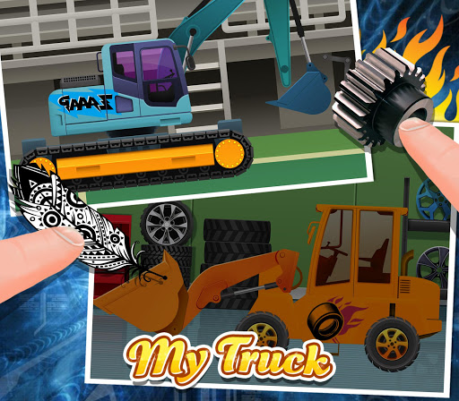 Build my truck design play app app for Truck design app