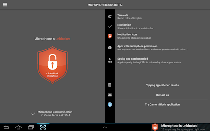 Mic Block - Anti spy & malware Screenshot 37