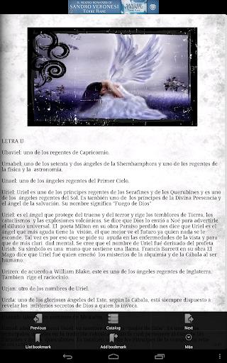 El diccionario de los angeles