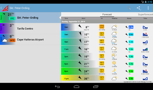 Windfinder Pro Screenshot 20