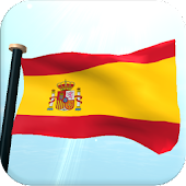 Spain Flag 3D Free Wallpaper