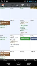 Touch Calendar,download,free,android,apk