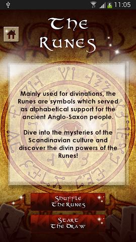 android Rune Readings Screenshot 2