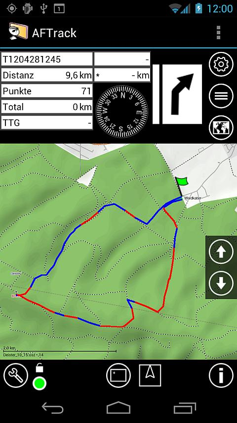 AFTrack-Lite - GPS Tracking - screenshot