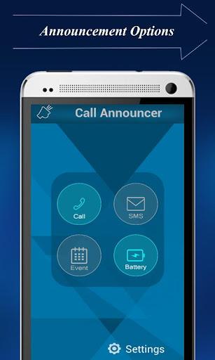 SMS-Call Speaker:Caller Name