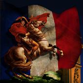 Napoleon & French Flag