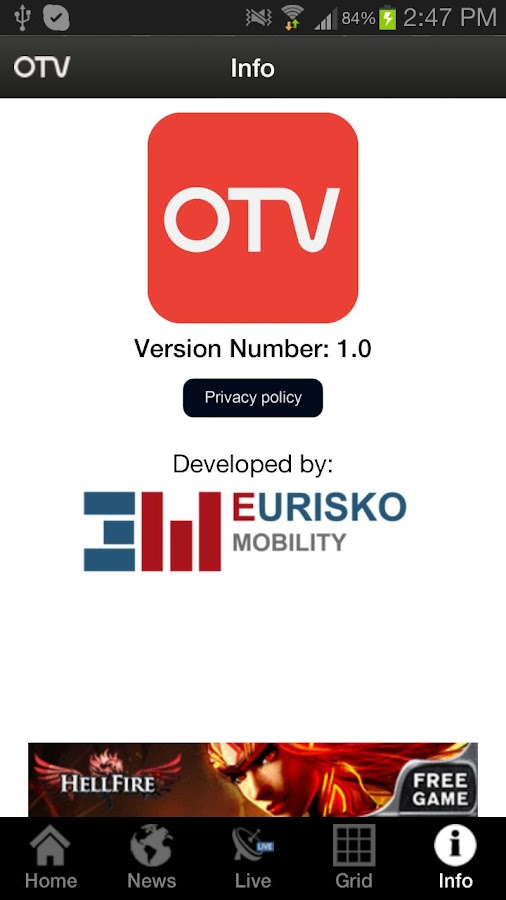 OTV - screenshot