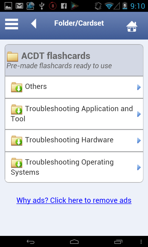 ACDT Flashcards - screenshot