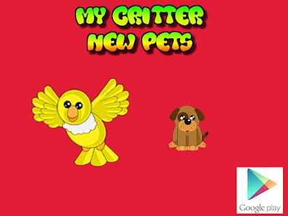 My Critter Tamagotchi Pet
