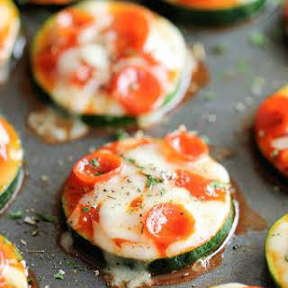 Zucchini Pizza Bites.