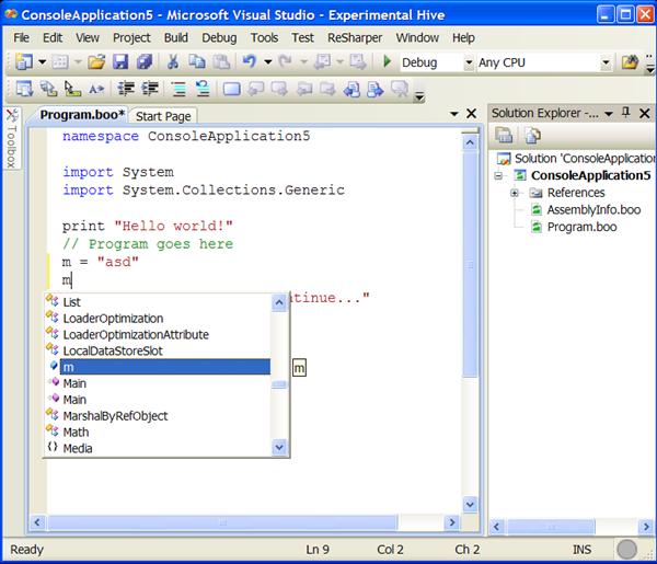 Coding Instinct: May 2008