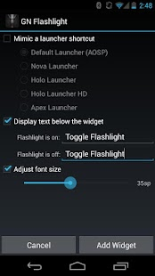 Nexus Flashlight- screenshot thumbnail