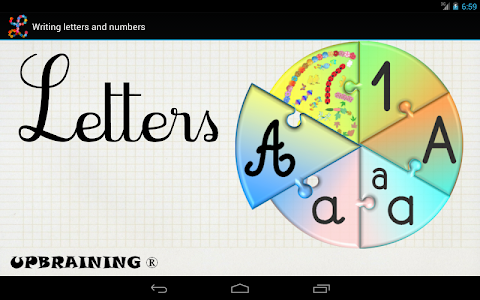 Learning to write 2 -  Letters v1.13