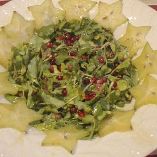 Watercress and Pomegranate Salad